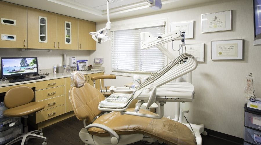 Dental Chair at the Beyer Dental Office